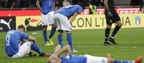 Italia fuori dai mondiali - Italia vs Svezia
