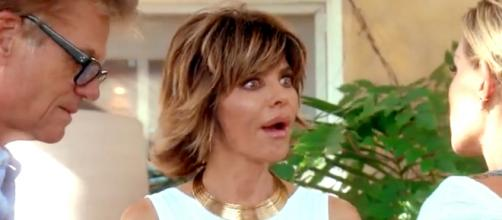 Lisa Rinna appears on 'Real Housewives of Beverly Hills.' [Photo via Bravo screenshot]