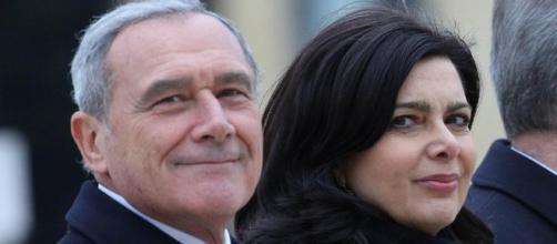Pietro Grasso e Laura Boldrini nuovi leader della nuova sinistra chiamata Libertà e uguaglianza?
