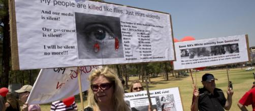 The Black Monday March has brought attention to the murders of farmers in South Africa.