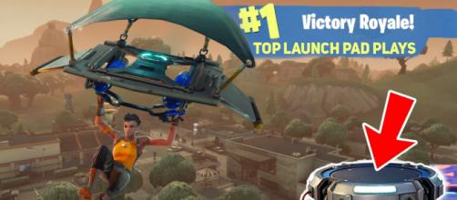 "Top launch pad plays in ""Fornite"" Battle Royale. Image Credit: Own work"