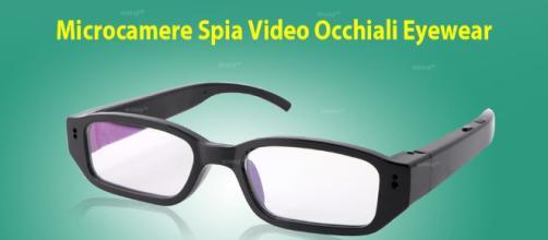 WISEUP 8GB 1920x1080P HD Microcamere Spia Video Occhiali Eyewear ... - amazon.it