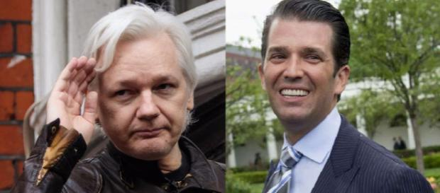 Donald Trump, Jr. contacted WikiLeaks during his dad's election campaign