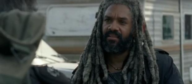 Ezekiel speaks with Carol / Image via Daryl Dixon, YouTube screencap
