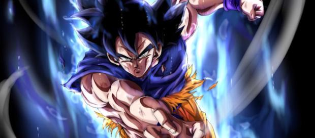 Goku Transforms Into Ultra Instinct (Image Credit: DragatonWarrior/Youtube screen cap)
