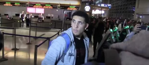 LiAngelo Ball and his fellow UCLA freshmen are back in the United States -- TMZSports via YouTube