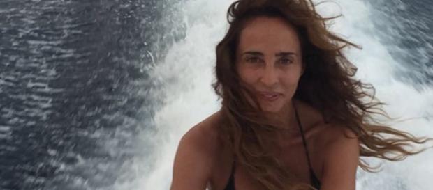 María Patiño y la fórmula de la felicidad.