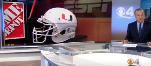 Miami is in the race for another national championship. - [CBS News / YouTube screencap]