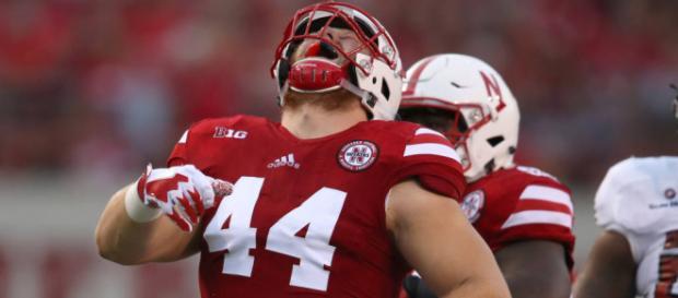 Mick Stoltenberg took his Nebraska football teammates to task [Image via Huskers.com/YouTube]