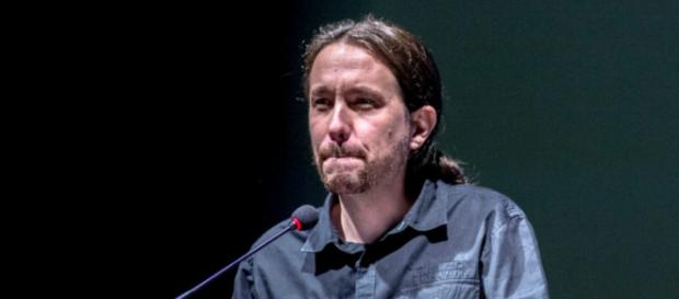 Pablo Iglesias durante un acto