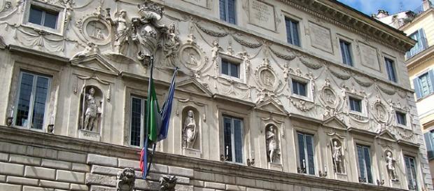 Palazzo Spada a Roma in Piazza Capo di ferro