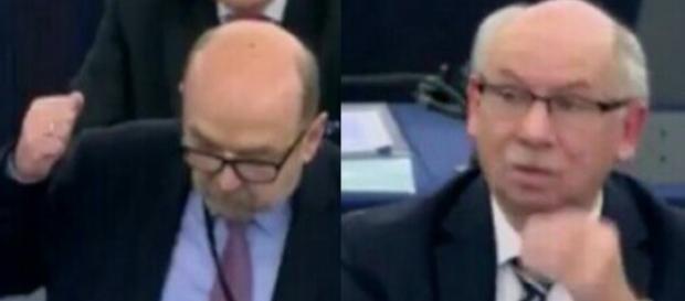Ryszard Legutko spuszcza intelektualny łomot eurokratom (scrn youtube.com)