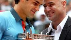 Tennis: per Agassi non è Federer il migliore di sempre