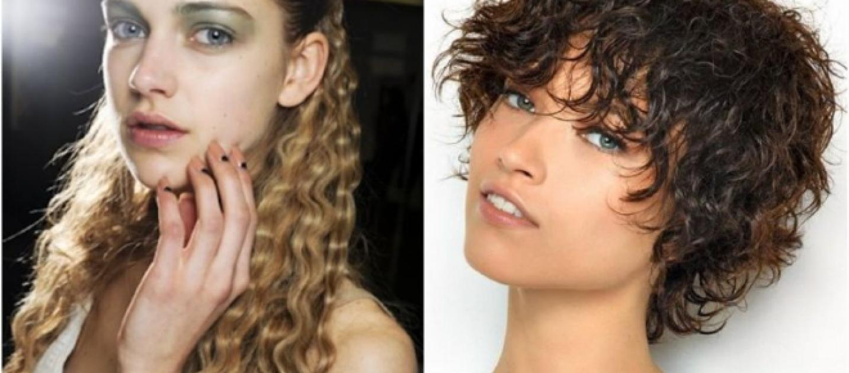 nuovi tagli  capelli ricci  autunno inverno