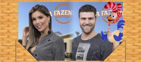 Flávia e Marcelo disputam a roça em 'A Fazenda 9 - Nova Chance'