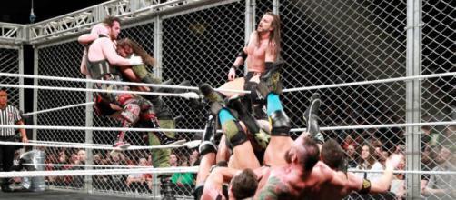 Adam Cole fue el artífice del triunfo de su equipo en la primera lucha de War Games en WWE.- wwe.com.