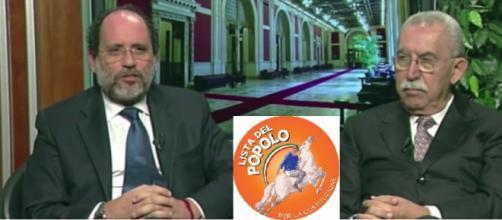 Antonio Ingroia e Giulietto Chiesa presentano il loro nuovo progetto politico