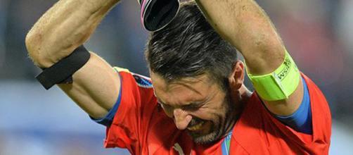 Buffon y su último adios a la selección italiana