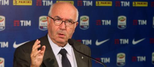 Carlo Tavecchio, presidente della Federazione Italiana Gioco Calcio