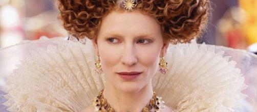 "Cate Blanchett interpretando a Elizabeth en ""Elizabeth The Golden Age"""