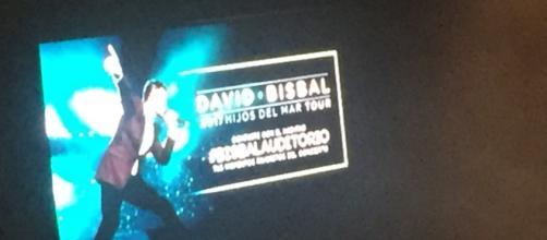 David bisbal cantó ante miles de fans en suelo mexicano