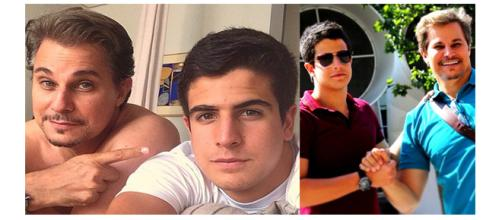 Eles se assemelham muito aos seus pais