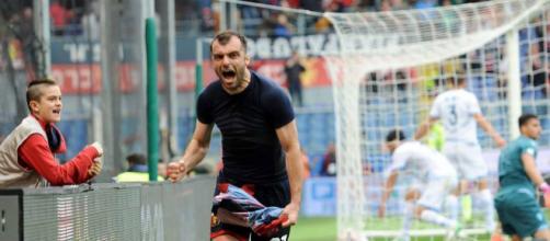 Goran Pandev carica il Genoa in vista di Crotone