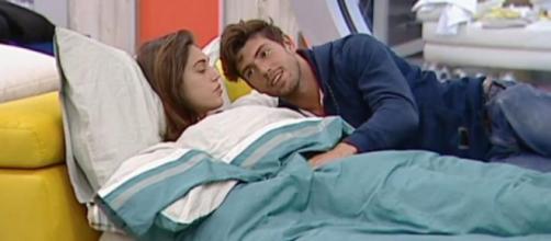 Grande Fratello VIP : Ignazio e Cecilia, allusioni hot