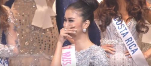 Indonesia wins Miss International 2017 [Image Credit: Latino Vicente/YouTube]