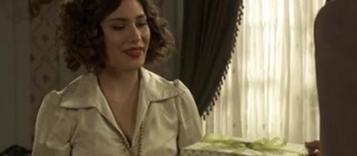 Una scena della soap opera 'Il Segreto'
