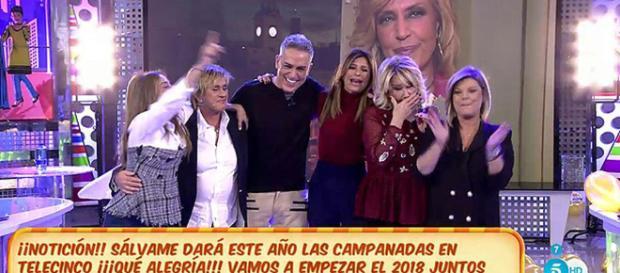 Sálvame' dará las campanadas de Telecinco en directo desde la ... - telecinco.es