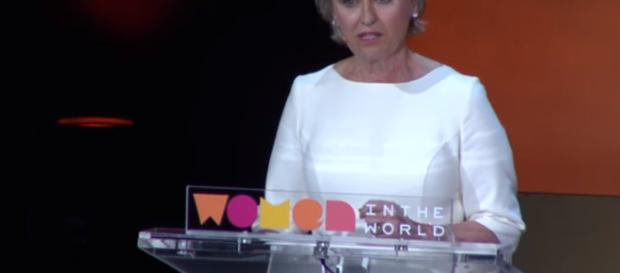 Tina Brown at the women in the world summit - (Image Credit: Womenintheworld/YouTube screencap)