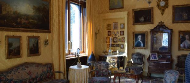 Villa Necchi Campiglio a Milano, casa dei FAI, presenta 21 opere d'arte, da Picasso a Modigliani