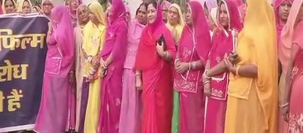 women are also agitating against the release Photo credit -( Screen shot Youtube.com)