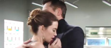 Victoria has replaced her love for Billy with a lust for power. (Image credit CBS_soaps in depth YouTube screencap).