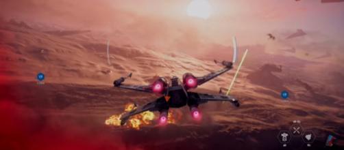 A screenshot from 'Star Wars Battlefront 2.' - YouTube/gameranx