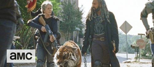 'The Walking Dead' is back on AMC. [Image Credit: flickr | TheWalkingDead CastPictures]