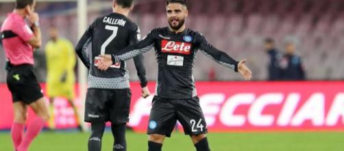Lorenzo Insigne dopo il gol al Milan di sabato scorso (CalcioMercato.com)