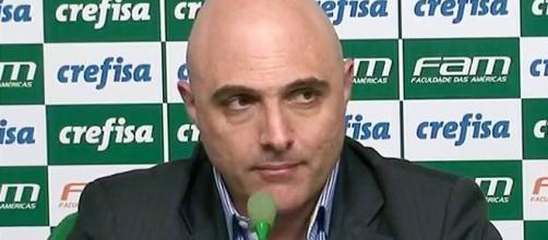 Maurício Galiotte é o dono do maior cargo dentro do clube