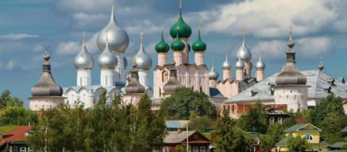O belíssimo Kremlin de Rostov on Don.