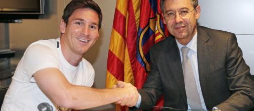 Todo lo que sucede con la renovación de Messi aquí