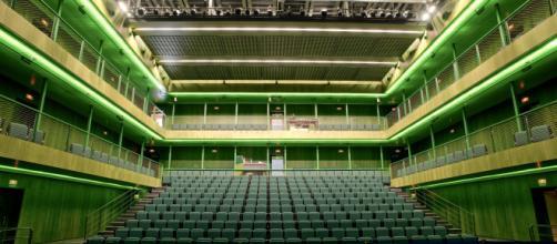 Sala Verde de los Teatros del Canal de Madrid.