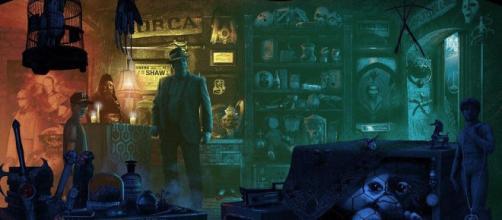 'The Old Curiosity Shop', il poster di Kevin M. Wilson - reddit.com