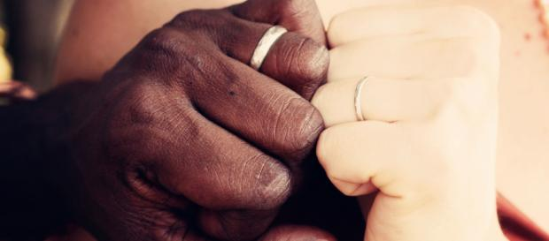 Could online dating be the reason interracial marriages are on the rise? Photo by Free-Photos at Pixabay.com Creative Commons license.