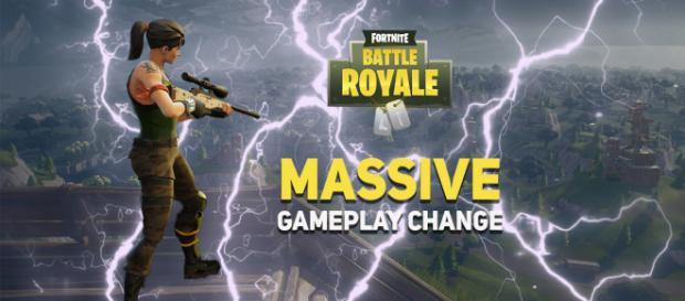 """""""Fortnite"""" Battle Royale gets a huge gameplay change! Image Credit: Own work"""