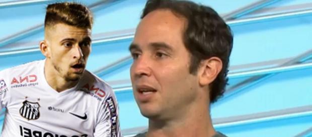 Lucas Lima e Caio Ribeiro, respectivamente