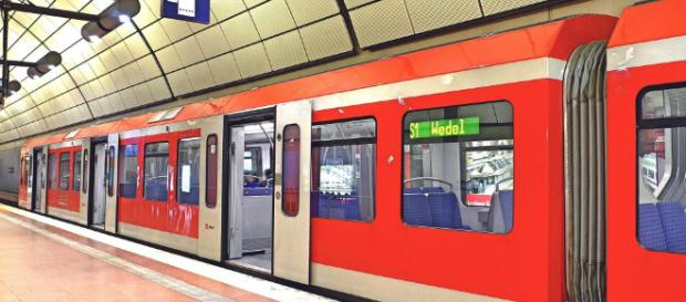 S- Bahn in Hamburg Verteilung Fahrgäste