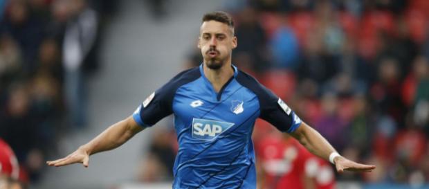 Sandro Wagner von der TSG 1899 Hoffenheim gibt nicht viel auf sein ... - eurosport.de