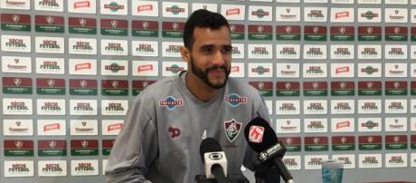 Henrique Dourado pede retorno de mentalidade de campeão ao Fluminense em 2018 (Foto: Globo.com)