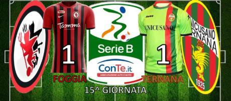 Termina 1-1 il match dello Zaccheria tra Foggia e Ternana